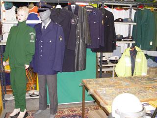 polizei uniform grün