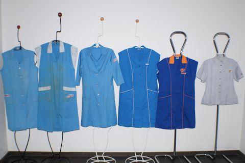 supermarket uniforms shopping